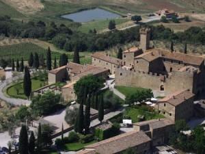 O Castello Banfi também com hospedagem